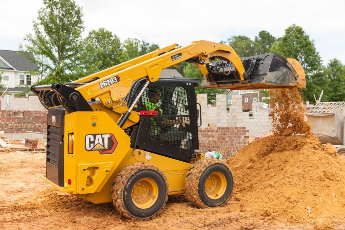 Skid Steer in Use