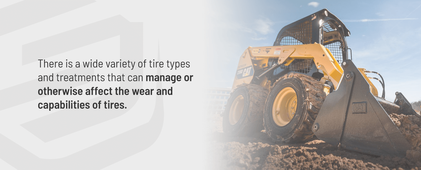 Tire types and treatments