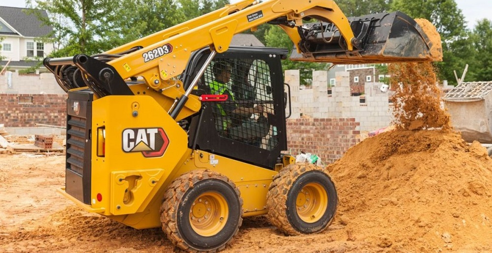 Renting a Cat Skid Steer