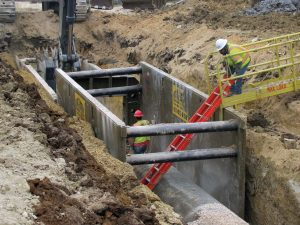 steel trench safety equipment rental