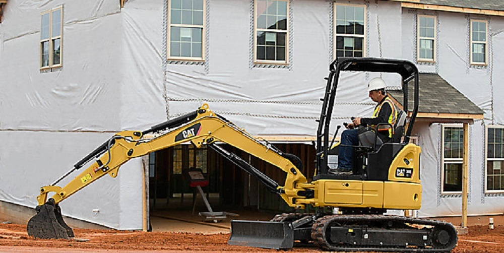 Cat Equipment Rental for Home Building